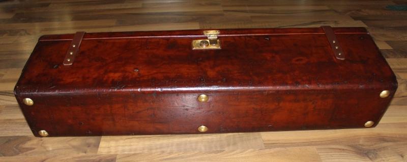 10_Δερμάτινη βαλίτσα για ζευγάρι δίκαννων κωδ.8