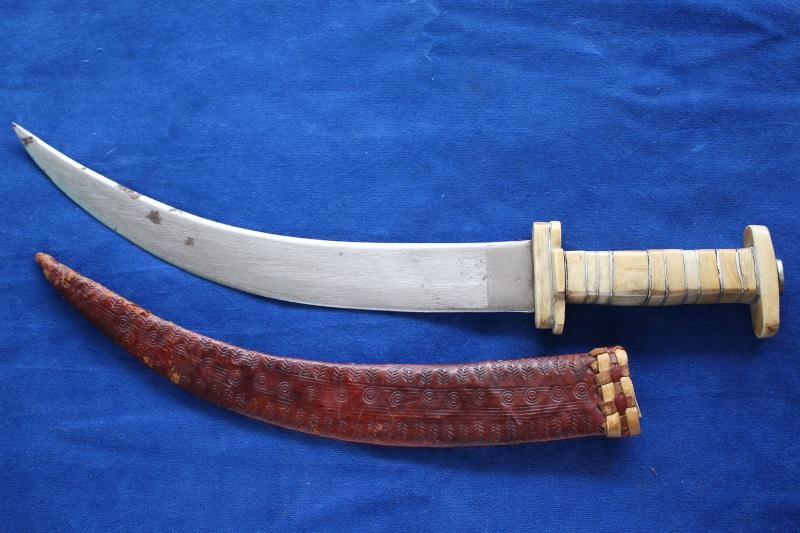 1_Παλιό μαχαίρι Κεντρικής Αφρικής κωδ.110