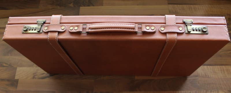 2_Διπλή δερμάτινη βαλίτσα κωδ.21