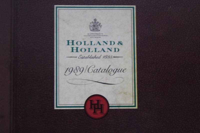 2_Κατάλογος Holland & Holland 1989