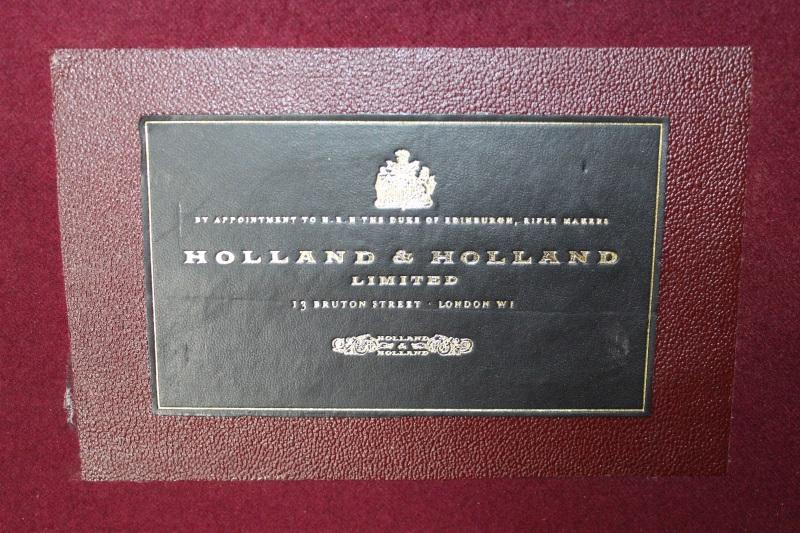 3_Δερμάτινη βαλίτσα όπλου Holland & Holland κωδ.42