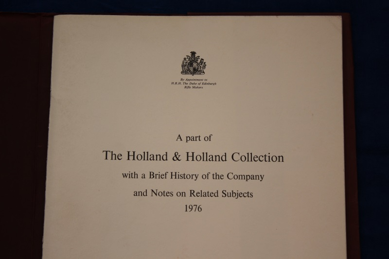 3_Folder Holland & Holland