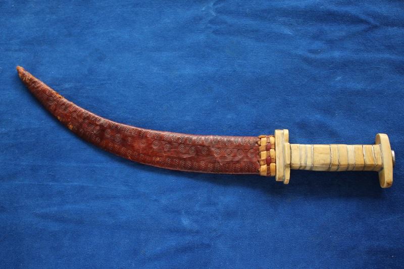 4_Παλιό μαχαίρι Κεντρικής Αφρικής κωδ.110