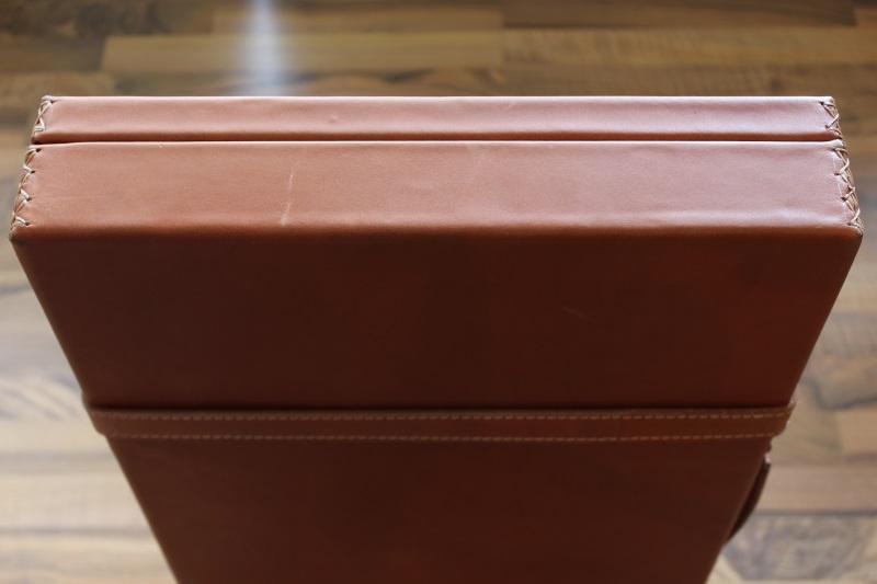 5_Διπλή δερμάτινη βαλίτσα κωδ.21