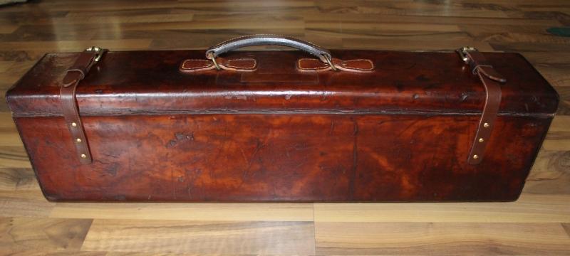 8_Δερμάτινη βαλίτσα για ζευγάρι δίκαννων κωδ.8