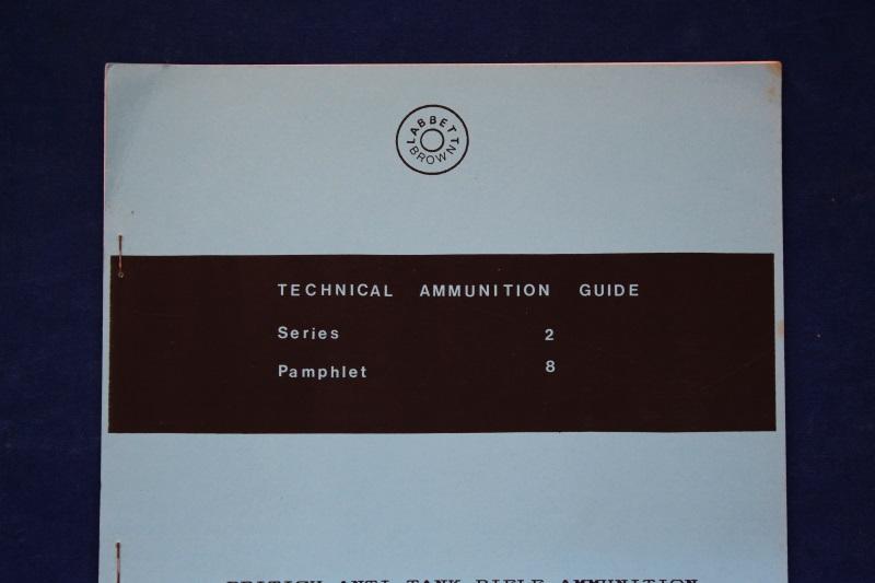 8_Οκτώ εγχειρίδια πυρομαχικών τυφεκίων
