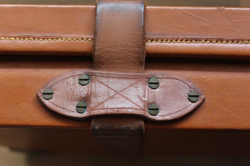 9_Βαλίτσα από δρυ και δέρμα H&H κωδ.24