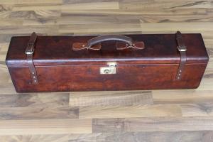 Small_Δερμάτινη βαλίτσα για ζευγάρι δίκαννων κωδ.8